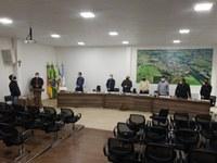 LEGISLATIVO REALIZOU 07ª SESSÃO ORDINÁRIA DE 2021